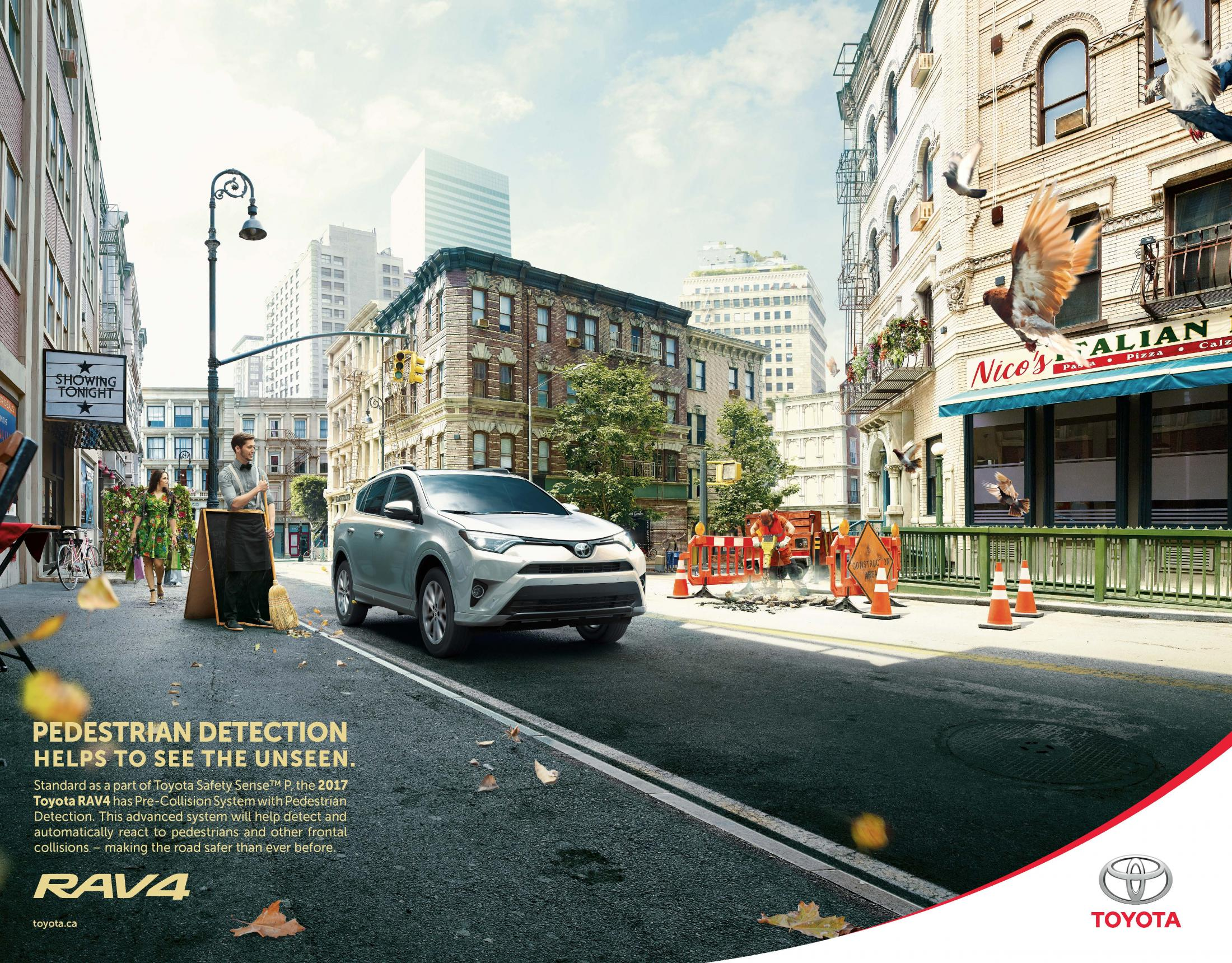 Toyota Print Advert Toyota Camouflage - Hilda Style